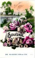 72 Souvenir De SAINT-GERVAIS-de-VIC     (Recto/Verso)