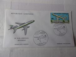 GABON (1973) AIR AFRIQUE , DC 10