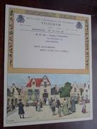 TELEGRAM Pauwels De Wachter Antwerpen / Verzonden 1948 Jacobs / Belgique - Belgium !! - Faire-part