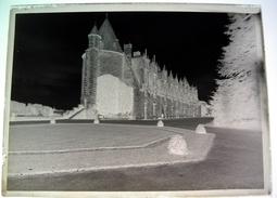 Château Josselin Morbihan - Négatif Sur Plaque De Verre 9X12cm Env - Bien Lire Descriptif - Glass Slides