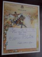 TELEGRAM Denys Deboo BRUGGE / Verzonden 1952 Bolle / Belgique - Belgium !! - Faire-part