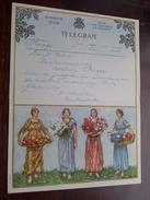 TELEGRAM Denys Deboo BRUGGE / Verzonden 1952 Vansteenkiste / Belgique - Belgium !! - Faire-part
