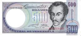 Venezuela  - Pick 67d - 500 Bolivares 1990 - AUnc - Venezuela