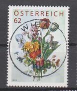 """Österreich 2012:  """"Blumenstrauß"""" Gestempelt, Nur Im Abo Erhältlich (siehe Foto/Scan)"""