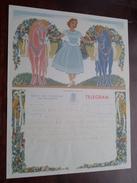 TELEGRAM Denys Deboo BRUGGE Assebroek / Verzonden 1952 Devos Vandermeersch / Belgique - Belgium !! - Faire-part