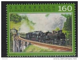 """Österreich 2015: """"Semmeringbahn"""" Postfrisch(siehe Foto/Scan)"""