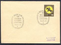 Germany DDR 1965 Cover: Athletics Athletik Leichtathletik; Modern Pentathlon World Championship Berlin Equestrian