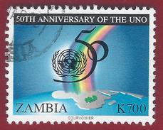 1995 - Emblem - Rainbow - Yt:ZM 600 - Used