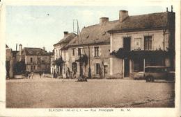 CPA Blaison Rue Principale - Frankrijk