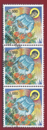 2002 - Christmas 1994 Issue Overprinted - Mi:ZM 1388 - Used - Zambia (1965-...)