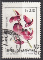 1430 Argentina 1983  Fiori Flowers Erythrina Crista-galli Seibo Tree Albero Di Corallo Used - Argentina