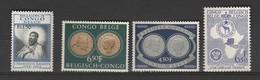 Congo Belge N° 324**,327,**328**,338**