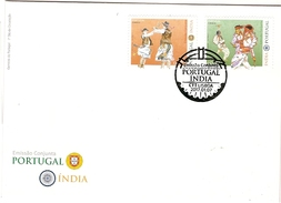 Portugal & FDC Joint Edition With India, Traditional Customs, Lisbon 2017 (5778)