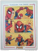 Madagascar Madagaskar 1999 Spiderman Spider Man Marvel Souvenir Sheet Bloc Block TRES RARE !