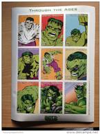 Madagascar Madagaskar 1999 The Incredible Hulk Marvel Souvenir Sheet IMPERF Bloc Block TRES RARE !
