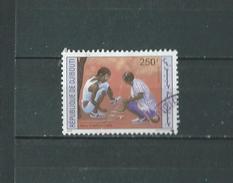 Timbre Oblitére De Djibouti 1991