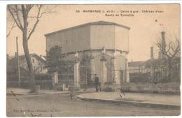 POSTAL  MARMANDE  -FRANCIA - PLANTA DE GAS-TORRE DE AGUA-RUTA DE TONNEINS (USINE A GAZ-CHÂTEAU D' EAU-ROUTE DE TONNEINS - Marmande