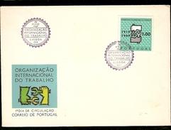 Portugal &  FDC International Labor Organization, Lisbon 1969 (1047)