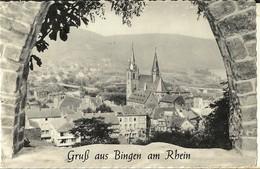 Bingen- Gruss Aus Bingen Am Rhein-cpsm - Bingen
