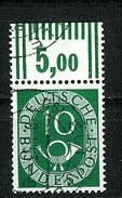 Bund 1951: Posthorn, Mi.-Nr. 128,  OR  Gest.