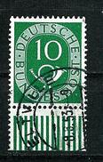Bund 1951: Posthorn, Mi.-Nr. 128,  UR  Gest.