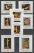 AJMAN - MNH - Art - Painting - Nudes - Paintings Of Venus - Imperf. - Deluxe