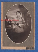 Photo Ancienne - STRASBOURG - Portrait D'un Militaire Du 158e Régiment - Voir Insigne - Photographie J. Fromm - Guerre, Militaire
