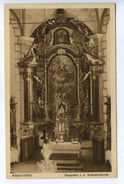 Maria-Sorg, Hauptaltar I.d. Wallfahrtskirche, Verlag Rudolf Weis, St. Joachimstal - Sudeten