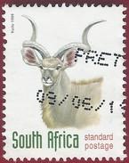 1998 - Greater Kudu (Tragelaphus Strepsiceros) - Yt:ZA 1001 - No Face Value - Used - Usati