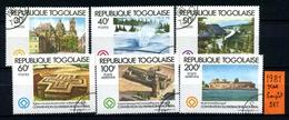 Repubblica Del TOGO - Year 1981 - Serie Completa - Complet  Set - Timbrati - Stamped. - Togo (1960-...)