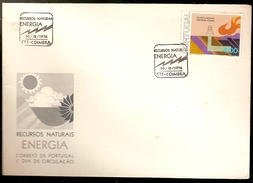 Portugal & FDC Energia, Natural Resources Cycle, Coimbra 1976 (1313a)