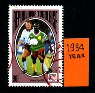 Repubblica Del TOGO - Year 1994 - Usato - Used. - Togo (1960-...)