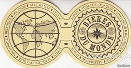 Sottoboccale_Sottobicchiere_Coaster-Saucer-Pubblicità_Advertising-Bieres Du Monde- - Sotto-boccale