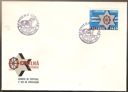 Portugal & FDC Centennial Of The City Of Covilhã 1970 (1079)