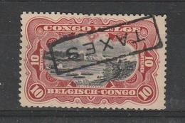 Congo Belge TX2  Sg (surcharge Renversée