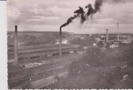CPSM 10X15 . BONNIERES (78) Usines PIRET Et SINGER  ( Vue Aérienne ) - Bonnieres Sur Seine
