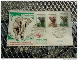 COTES D'IVOIRE (1959) éléphants
