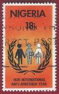 1978 - Anti-Apartheid Emblem -  Yt:NG 362 - Used