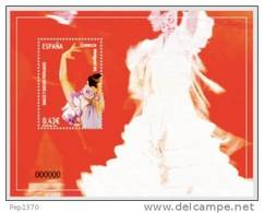 ESPAÑA 2009 - BAILES POPULARES - LAS SEVILLANAS - EDIFIL Nº 4486