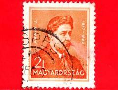 UNGHERIA - Usato - 1932 - Personalità - Janos Arany (1817-1882), Poeta - 2