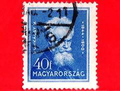 UNGHERIA - Usato - 1932 - Personalità - Mihaly Munkacsy (1844-1900), Pittore - 40