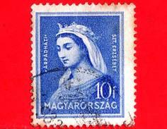 UNGHERIA - Usato - 1932 - Santa Elisabetta  (1207-1231) - 10