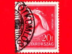 UNGHERIA - Usato - 1932 - Santa Elisabetta D'Ungheria (1207-1231) - 20