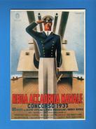 REGIA ACCADEMIA NAVALE Concorso 1937 .   RIPRODUZIONE.   Vedi Descrizione - Guerra