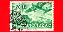 UNGHERIA - Usato - 1936 - Posta Aerea - Fokker F VII Over Mail Coach - 10