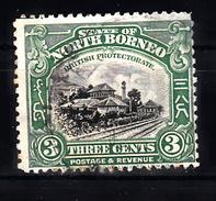 Train, Eisenbahn, Locomotive, Railway: North Borneo  1909 Mi Nr 129