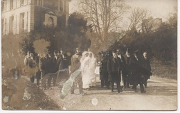 REAL PHOTOGRAPHIC POSTCARD MRS. POINCARE'S VISIT TO FRENCH HOSPITAL - WW1 - - Events