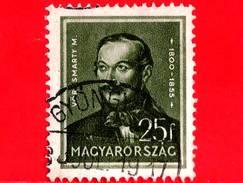 UNGHERIA - Usato - 1937 - Personalità - Mihaly Vörösmarty (1800-1855), Poeta - 25