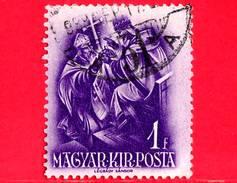 UNGHERIA - Usato - 1938 - 900° Anniversario Della Morte Di Santo Stefano - Arcivescovo Asztrik - 1