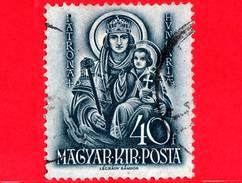 UNGHERIA - Usato - 1938 - 900° Anniversario Della Morte Di Santo Stefano - Madonna Con Bambino - 40